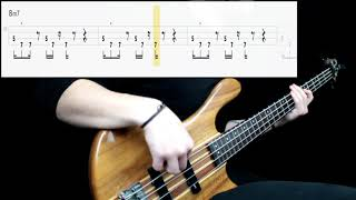 Red Hot Chili Peppers - I Like Dirt (Bass Cover) (Play Along Tabs In Video)