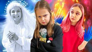 ХОЛОДНЫЕ vs ГОРЯЧИЕ Пранки! Девочки разыгрывают Амельку!