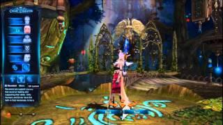 Бесплатная MMORPG Forsaken World: выбор персонажа