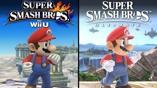 Super Smash Ultimate vs Super Smash WiiU | Direct Comparison