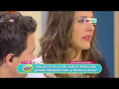 Se realizó el funeral de la hija de Vasco Moulian: La hija del actor nació con un problema en el corazón, el que no pudo se operado por su bajo peso, y a pesar de que luchó durante tres meses falleció.