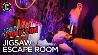 Jigsaw Escape Room - NYCC 2017