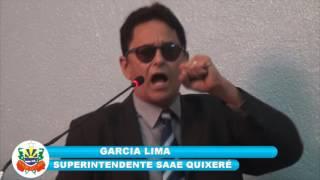 Garcia Lima apresentou na câmara de Quixeré o projeto SAAE de Lagoinha