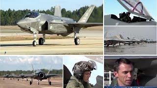 挑戰新聞軍事精華版--美軍「F-35」戰機參加「方格旗2015」演習