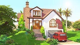 Cute Mediterranean || The Sims 4 Family Home: Speed Build