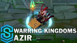Warring Kingdoms Azir Skin Spotlight - League of Legends