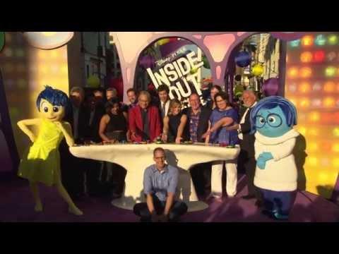 Inside Out Los Angeles Premiere Red Carpet - Amy Poehler, Bill Hader, Mindy Kaling, Lewis Black