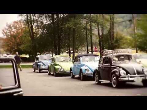 Classic VW BuGs 2014 October Fall Foliage Vintage Air-Cooled Car Tour Cruise Pt. 2