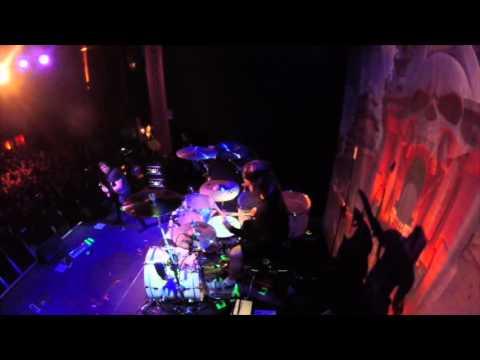 Paul Wandtke Trivium drum cam: drum solo @ Tricky Falls EL PASO