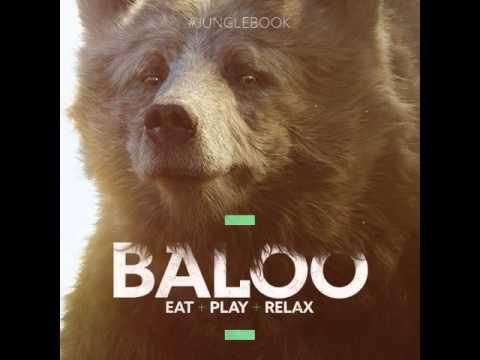 le livre de la jungle 2016 baloo promo art instagram youtube. Black Bedroom Furniture Sets. Home Design Ideas