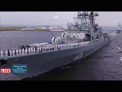 Russia Full Navy Day Parade 2017 [1080p]
