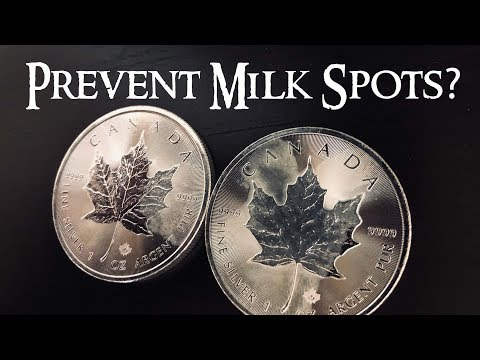 How to Prevent Your Silver Coins From Milk Spotting