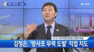 점점 남하하는 북한 무력시위...속내는? [신인균·양욱] / YTN