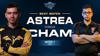 Astrea vs Cham PvZ - Match 1 Finals - WCS Winter Americas