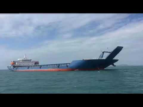 10000ton deck barge $1.2million LCT 10000DWT sale buy selfpropelled barge