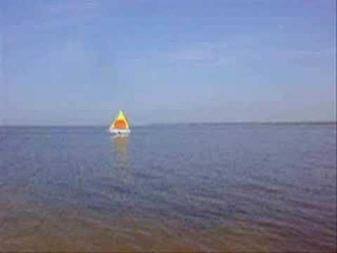 Learning To Sail AMF Alcort Minifish Sunfish Sailboat