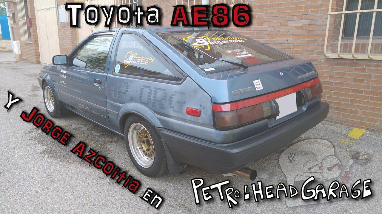 Toyota Ae86 Y Jorge Azcoitia En Petrolheadgarage En Español