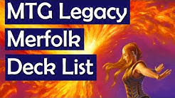 MTG Legacy Merfolk Deck List - Mono U Deck Tech