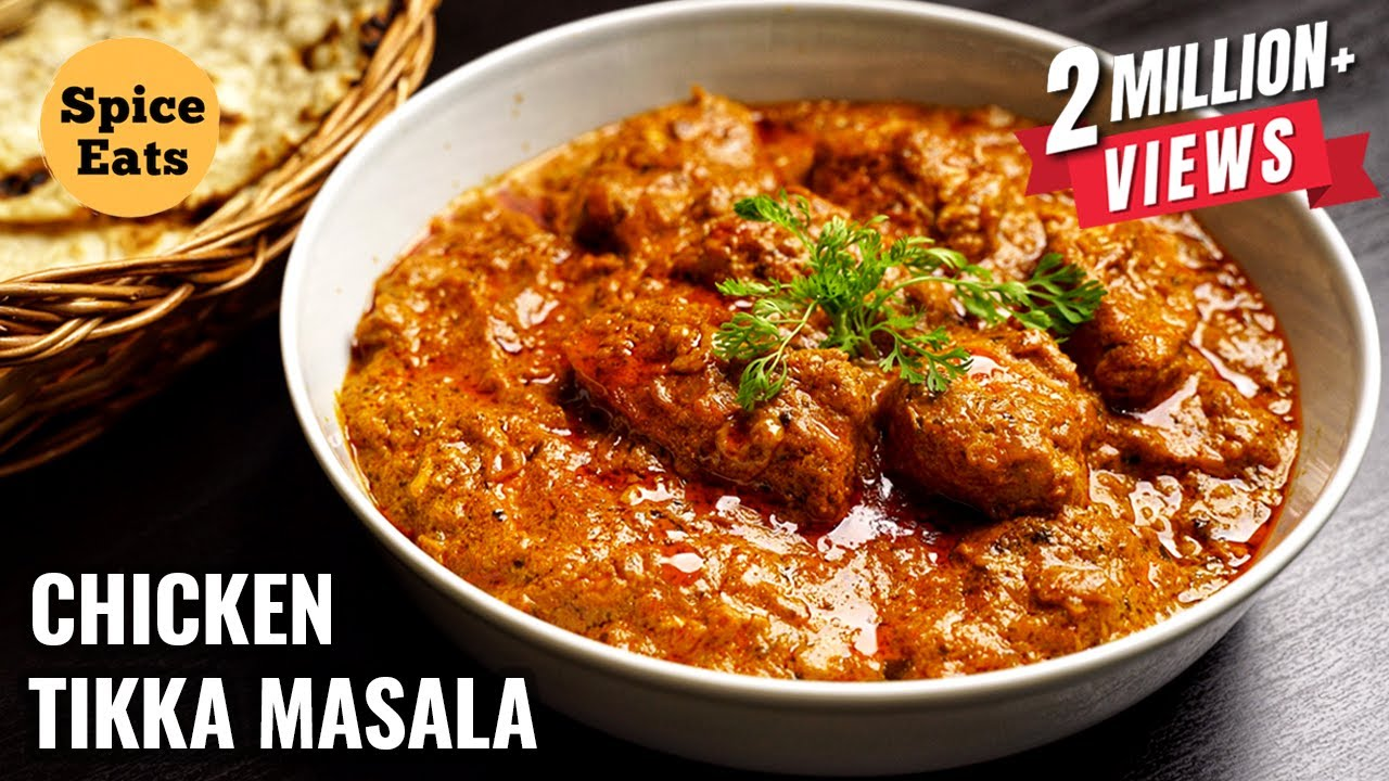 CHICKEN TIKKA MASALA RECIPE | HOW TO MAKE CHICKEN TIKKA MASALA | CHICKEN TIKKA GRAVY
