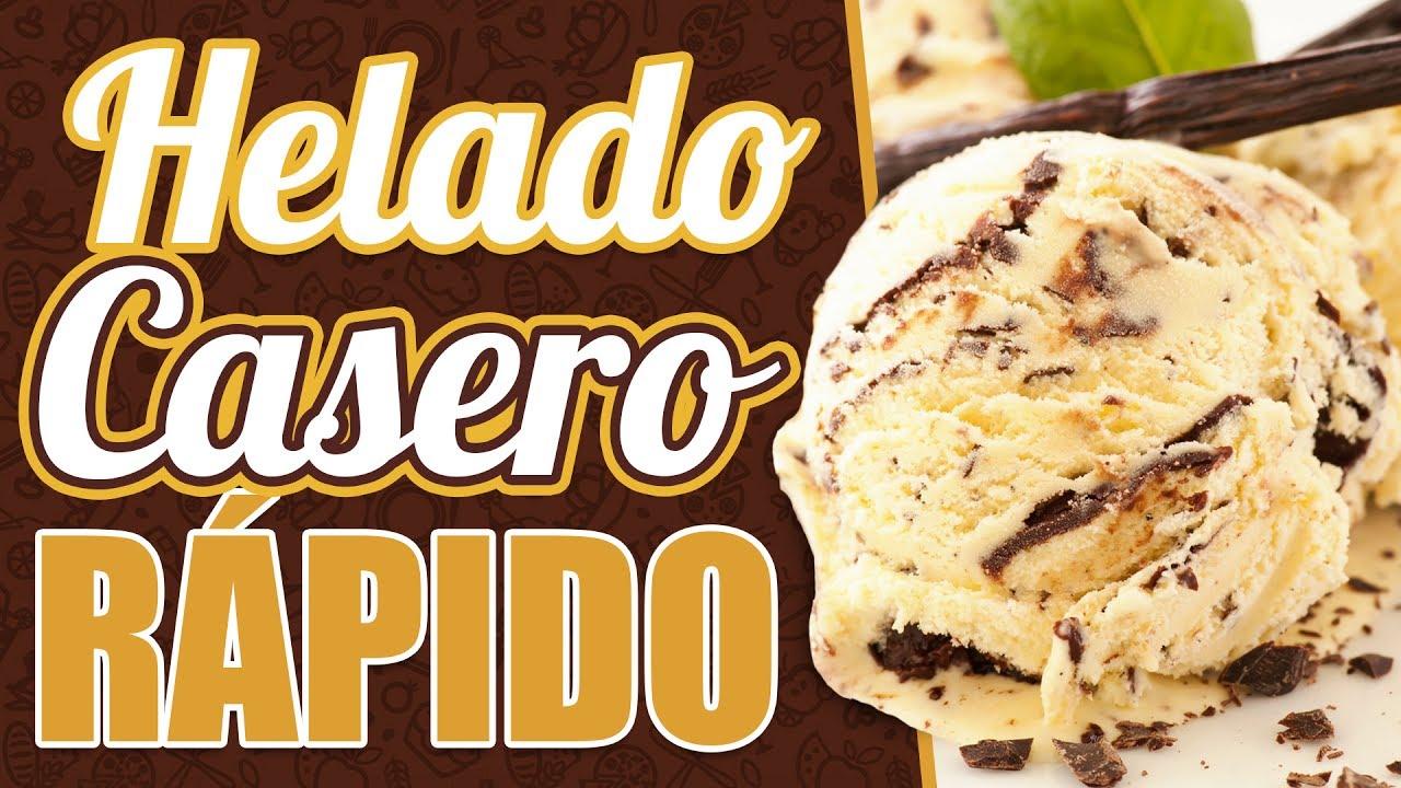 Recetas de helados caseros faciles