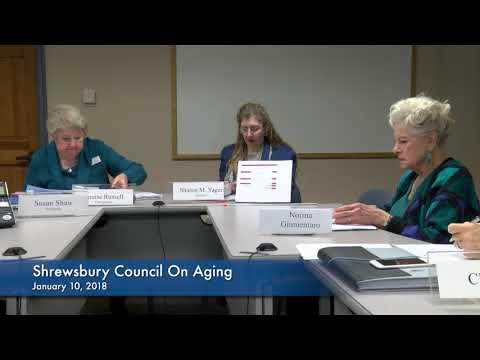Shrewsbury Council on Aging January 10, 2018