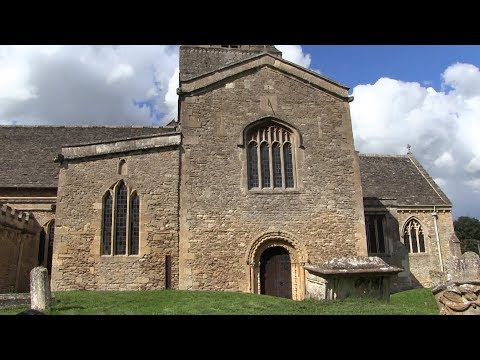 The Church Of Saint Mary The Virgin, Bampton In The Cotswolds And  Downton Abbey Filming Location