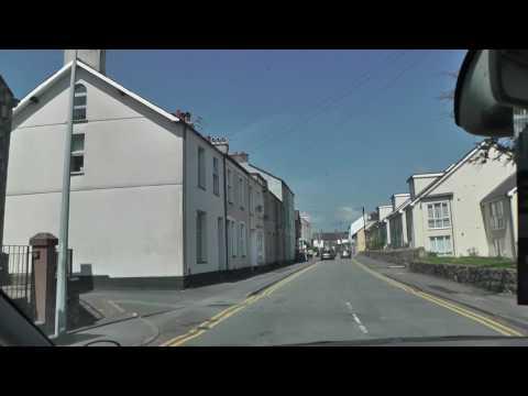 Driving Around Near Gwynedd Around Bangor & Anglesey At North Wales