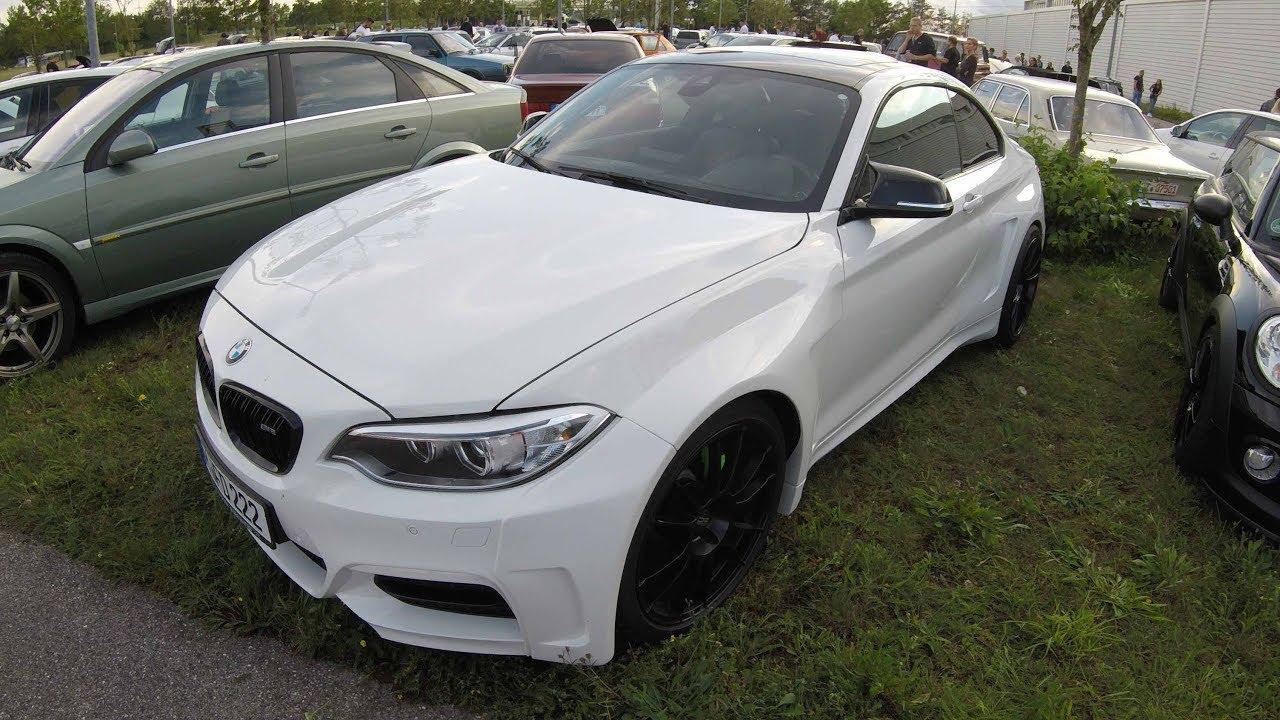 Bmw 2 series m2 coupe f87 wide body kit oz racing wheels white colour walkaround youtube - Bmw 2 series coupe white ...