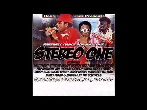 stereo one/ chisolm avenue,kingston,jamacia,1987