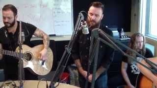 """Wilson performs """"Right to Rise"""" at the WRIF Studio"""