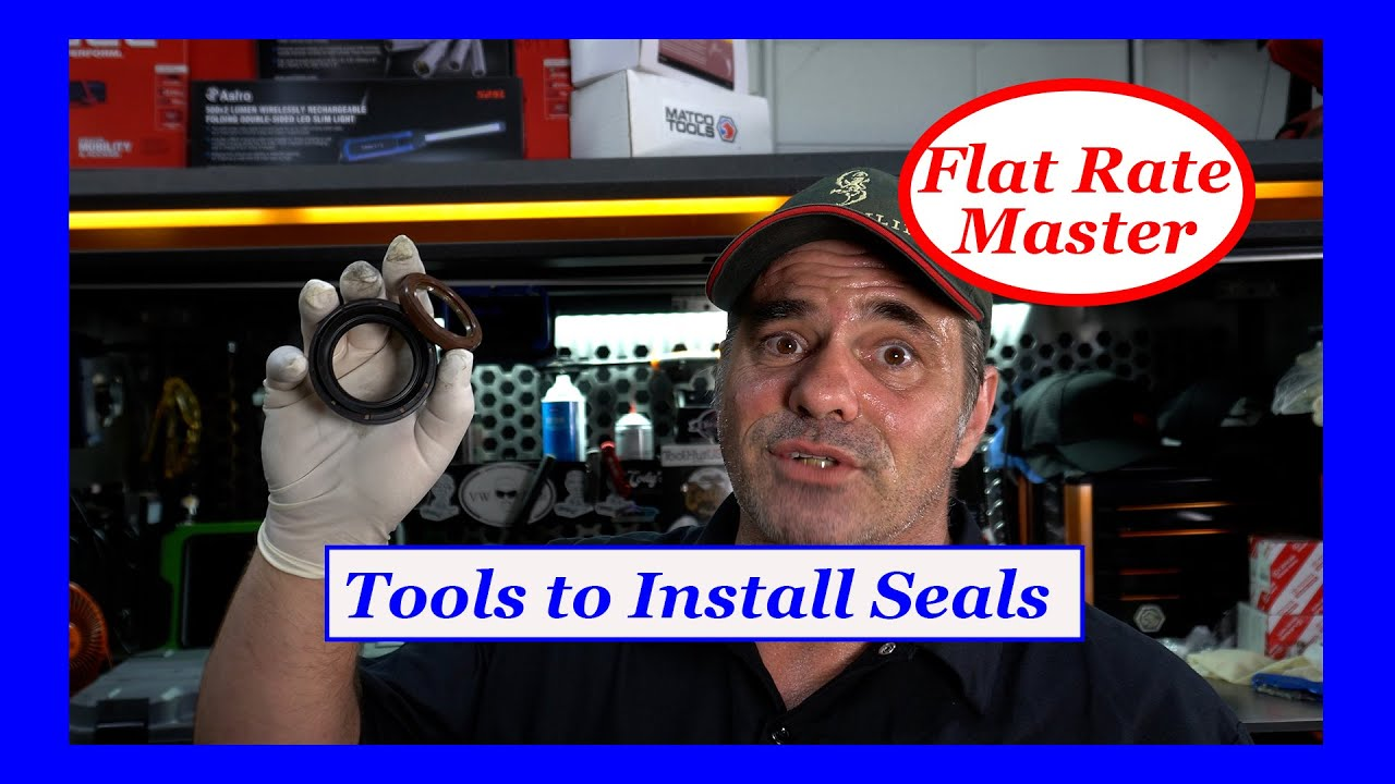 Tools to Install Seals