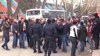 TKİ Tavşanlı Linyitspor - Balıkesirspor maçının ardından olaylar çıktı