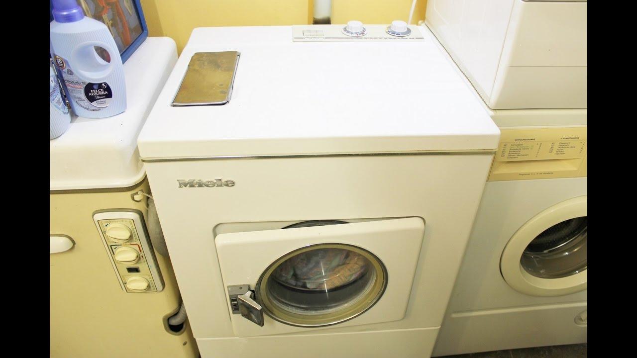 Waschmaschine Miele Automatic 416 Buntwäsche 60°C - YouTube