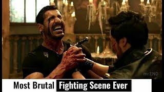 Most Brutal Fight Scene Ever    Rocky Handsome