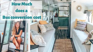 Total Cost To Convert A School Bus Into A Tiny Home