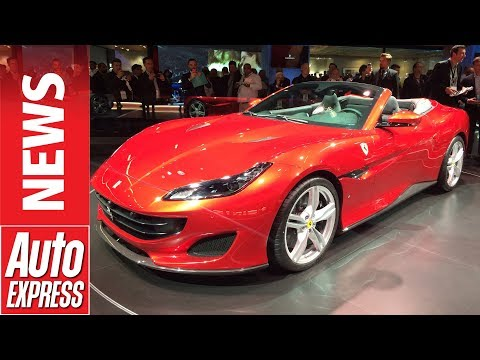 See the 592bhp Ferrari Portofino in the metal for the first time at Frankfurt...
