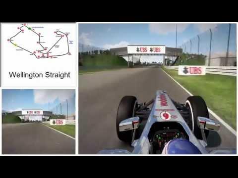 F1 Silverstone Corner Names