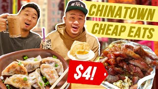 THE BEST CHEAP EAT HIDDEN GEMS in NEW YORK! | Fung Bros