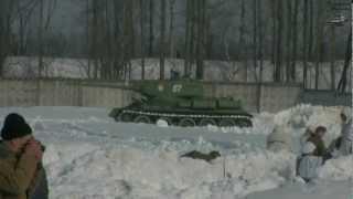 Унылое побоище - Кубинка 23.02.2013 года.