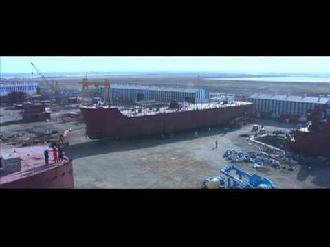 Modest Infrastructure Limited Bhavnagar Ship building division, India