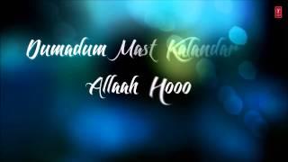 Damaa Dam Mast Kalandar Traditional Song with LYRICS   Mika, Yo Yo Honey Singh   Welcome Back