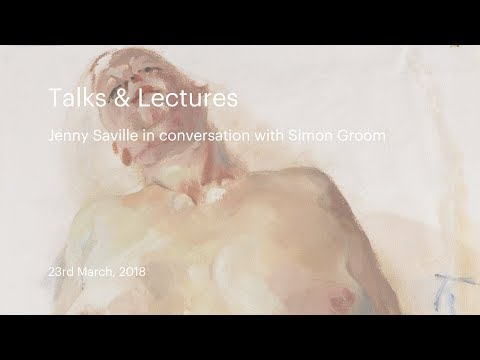 Talks & Lectures | Jenny Saville