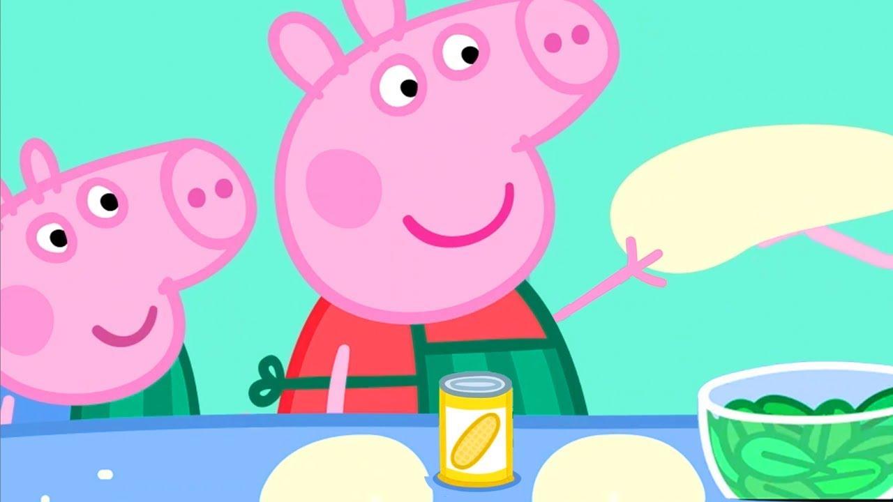 Peppa Pig Portugues Brasil Alimentacao Saudavel Habitos