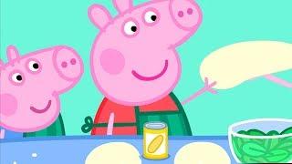 Peppa Pig Português Brasil | Alimentação Saudável🥕 Hábitos Saudáveis | HD | Desenhos Animados