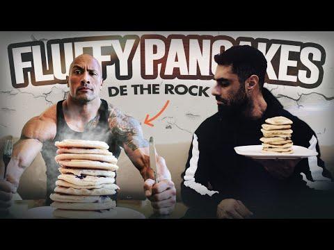 les-meilleurs-fluffy-pancakes-comme-the-rock
