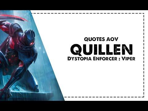 (QUOTES AOV) Quillen - Dystopia Enforcer : Viper (Đặc công mãng xà)   Purifying Blade