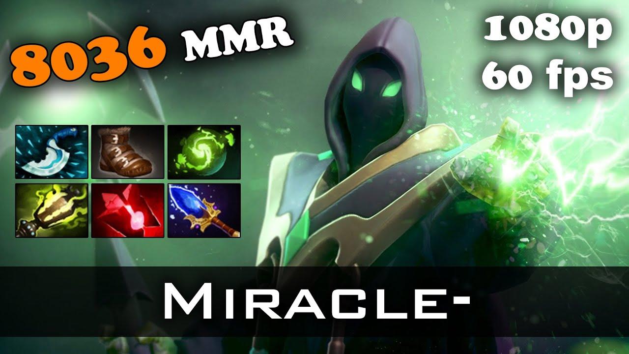 miracle mid rubick 8036 mmr dota 2 youtube