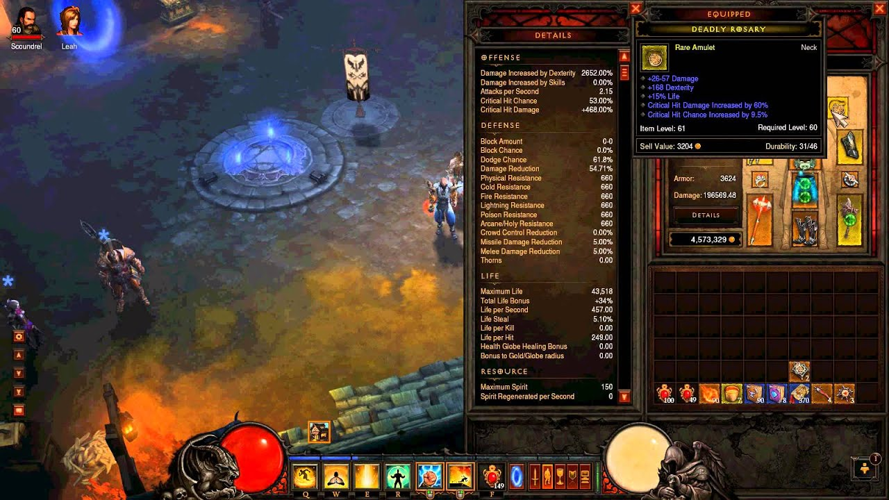 Diablo 3 dodge
