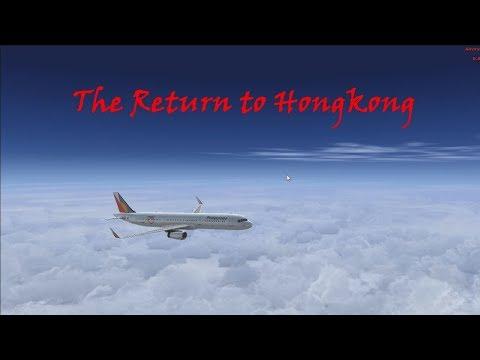 VATSIM Full flight - The Return to Hongkong