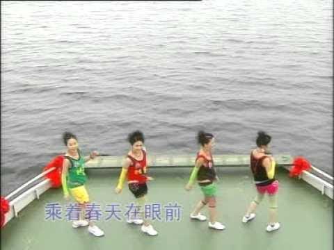[M-Girls 四个女生 / 四千金] 来来来干一杯 + 嘻嘻哈哈过新年 + 大家过个快乐年 -- 世外桃源 (Official MV)